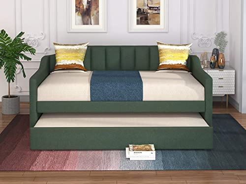 Merax Upholstered Daybed Size Twin Daybed