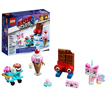 LEGO The LEGO Movie 2 Unikitty's Sweetest Friends EVER! 70822 Pretend Play  Food and Friends Building Kit for Girls and Boys, Unikitty LEGO Set, 2019