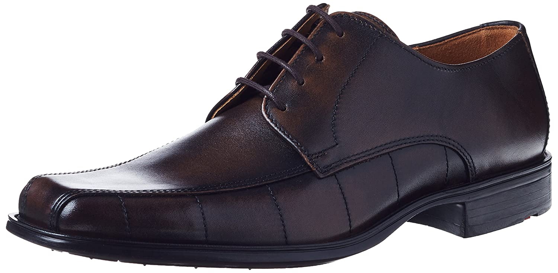 Lloyd Dover, Zapatos de Cordones Derby para Hombre 48 EU|Braun (Cigar 2)