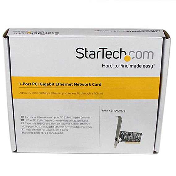 Amazon.com: StarTech.com Adaptador Tarjeta de Red: Electronics