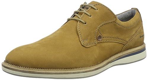 Trent, Zapatos de Cordones Brogue para Hombre, Marrón (Tan 160), 42 EU Burton Menswear London