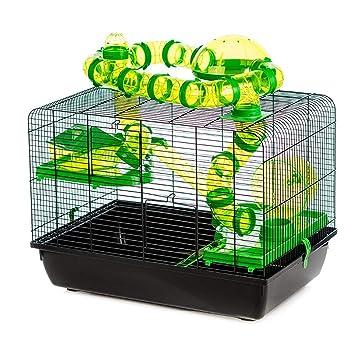 Pet Ting Jaula para Mascotas con diseño de hámster y Gerbil, y ...