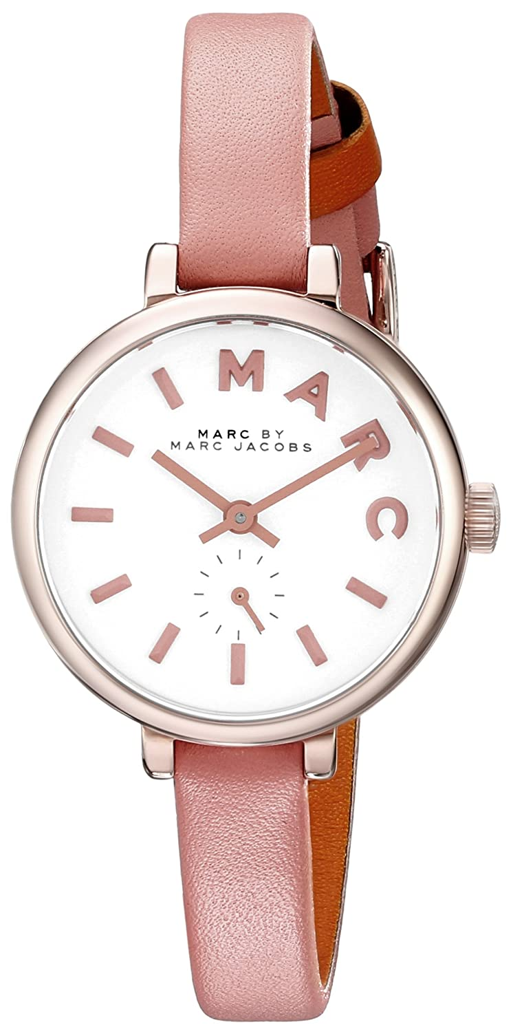 Marc Jacobs Sally fÜr Frauen-Armbanduhr Analog Quartz MBM1355