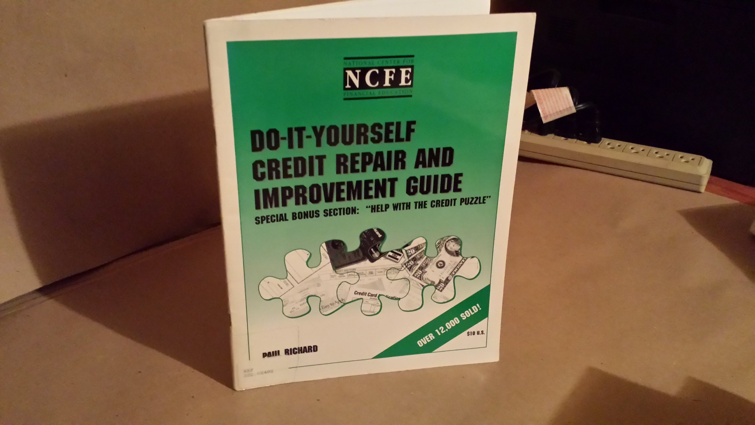 Do It Yourself Credit File Correction Guide Paul Richard Learn More At Help Com 9789993477464 Books