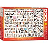Eurographics World of Cats Puzzle (1000 Pieces)