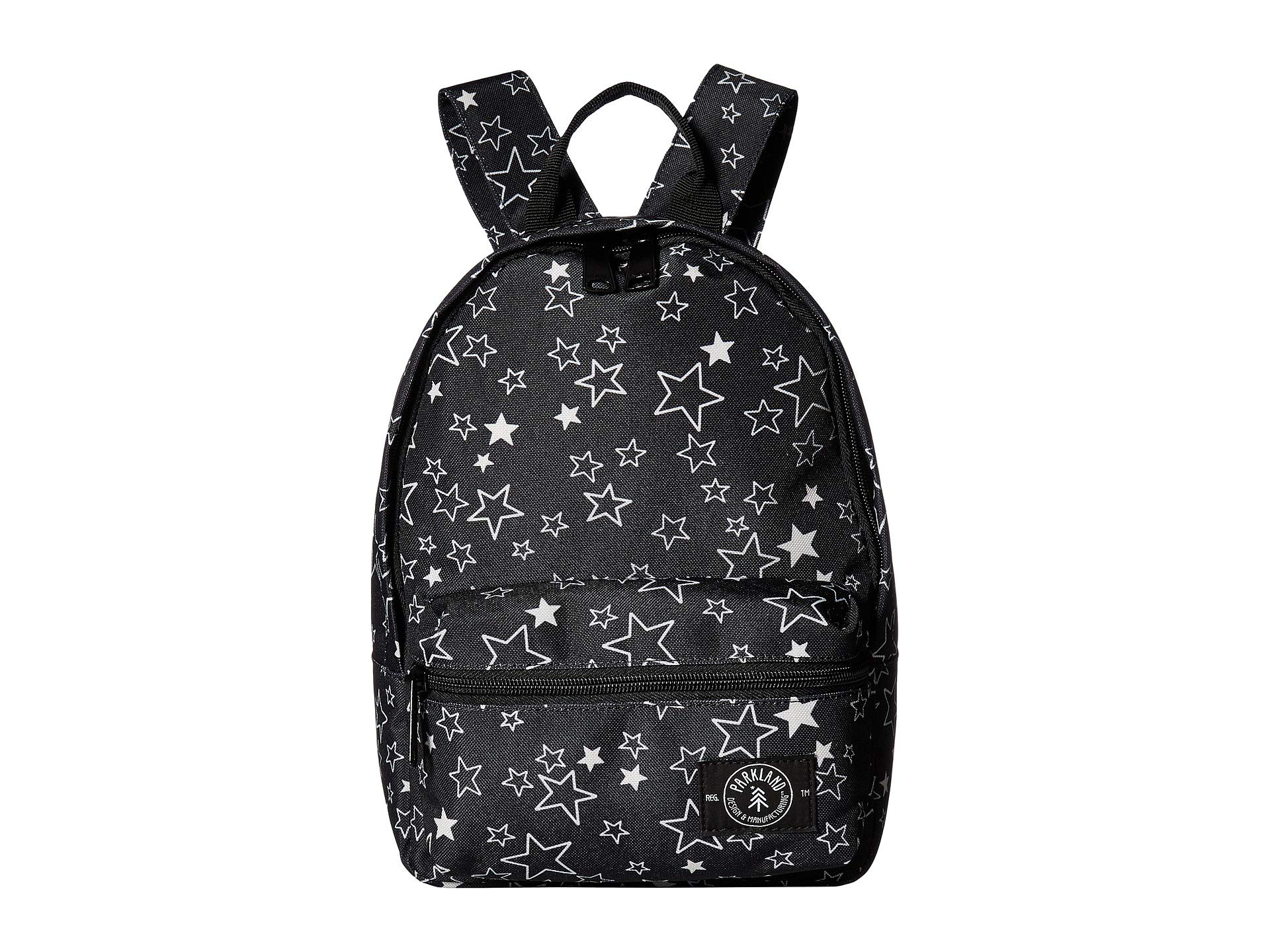 Parkland Girl's Rio Recycled Backpack (Little Kids/Big Kids) Stars One Size by PARKLAND