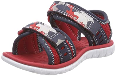 dc2ae2423d02 Clarks Boys  Surfing Wave Sling Back Sandals  Amazon.co.uk  Shoes   Bags