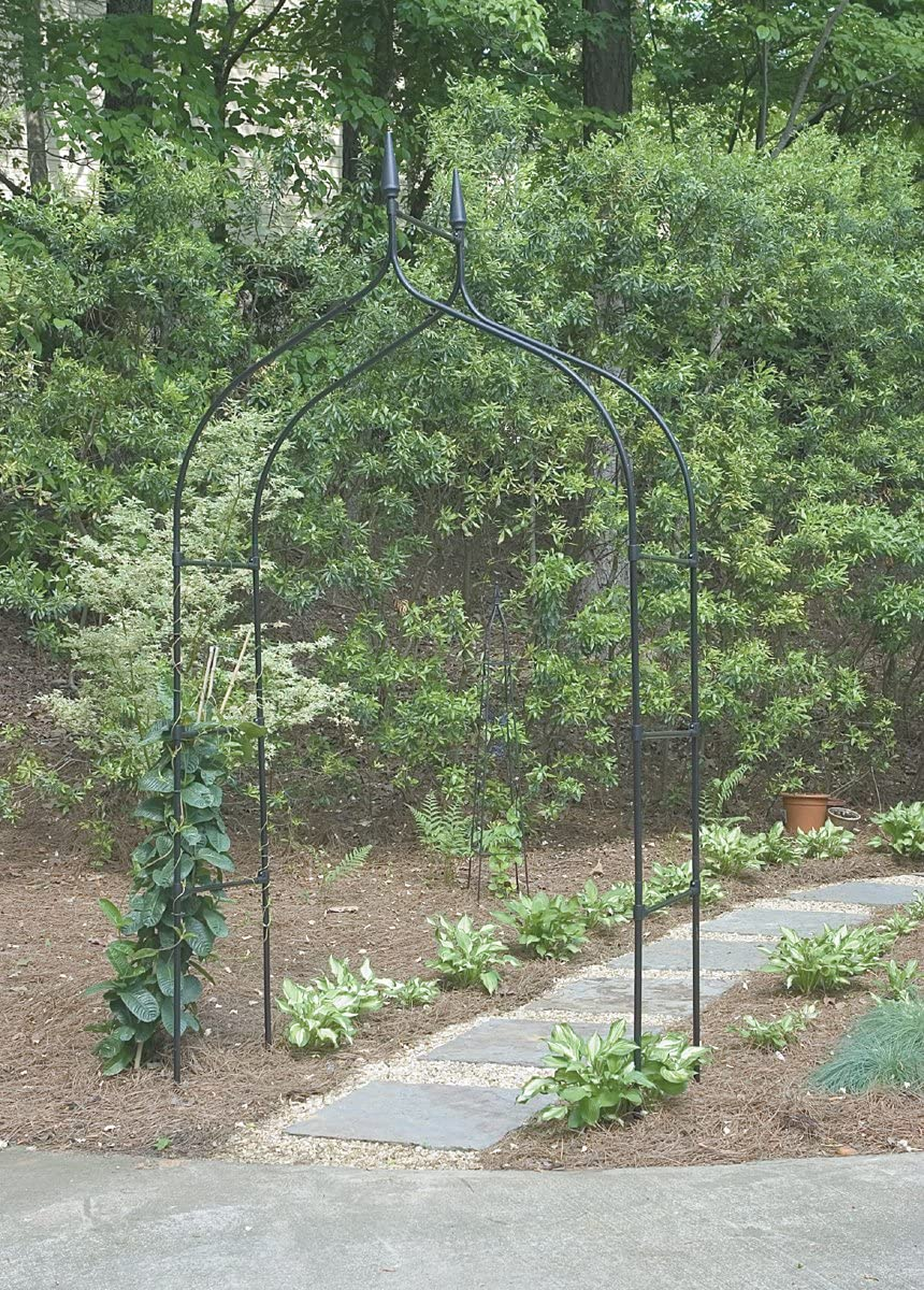 "Gardman R351 Gothic Arch, Black, 4' 7"" Wide x 8' 5"" High"