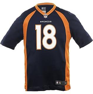 3ec4c1cc2bb NIKE NFL Peyton Manning Denver Broncos Jersey (Not Fake) Navy Orange - From