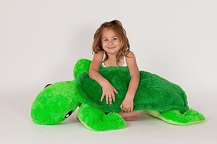 Amazon.com: Grande felpa cuerpo almohada – tortuga: Baby