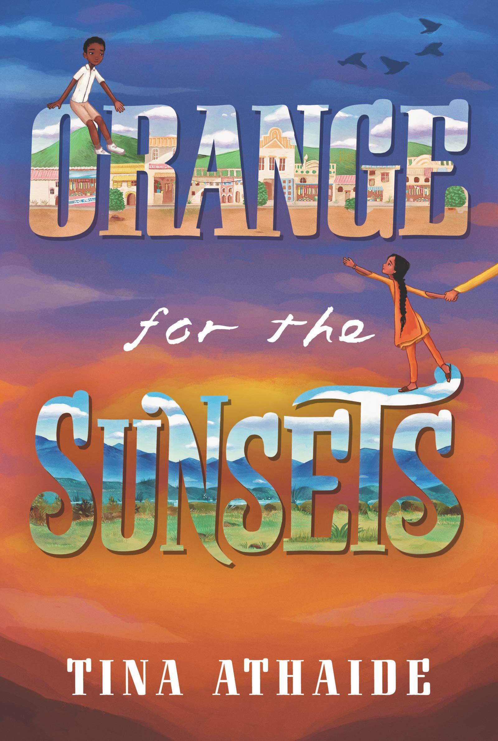 Orange for the Sunsets: Amazon.co.uk: Athaide, Tina: Books
