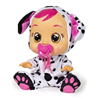 IMC Toys Cry Babies Dotty Dalmata, Colore Multi-Colour, 96370IM