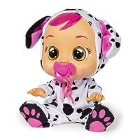 IMC Toys Bebés Llorones Dotty Dalmata Muñeca,, única (96370)