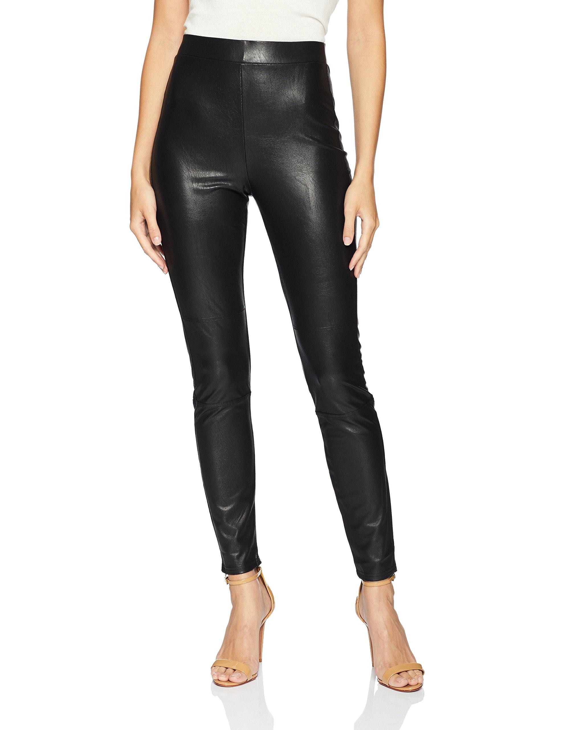 Splendid Women's Faux Leather Legging, Black, M