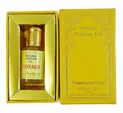 Chakra Naturparfum Cannabis Parfum 100% reines Naturparfum Öl 10ml