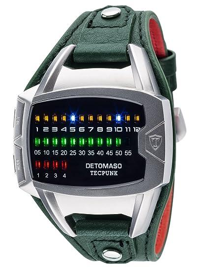 Reloj de pulsera Tecpunk para hombre con caja de acero ...