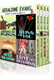 RAFFERTY & LLEWELLYN BOXED SET BOOKS 5-8 (Rafferty & Llewellyn British Mystery Series)