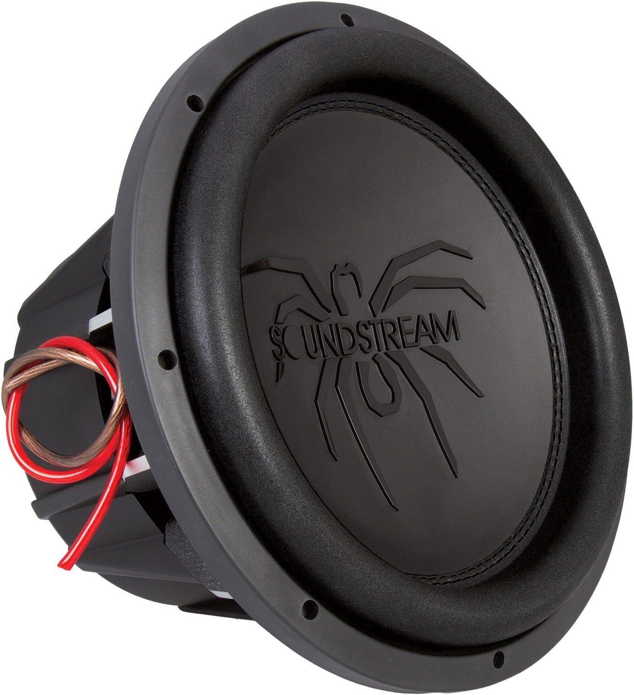 """Soundstream T5.152 2,600W 15"""" Car Subwoofer (Black)"""