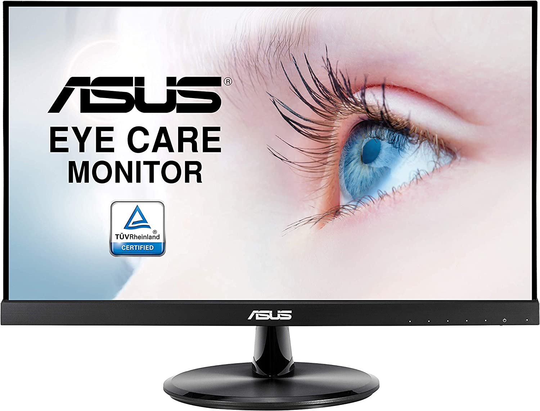 ASUS VP229HE Monitor Eye Care ASUS VP229HE: 21.5 Pulgadas, FHD (Full HD 1920 x 1080), IPS, Sin Marco, 75 Hz, Adaptive-Sync/FreeSync, HDMI, Eye Care, Luz Azul de Baja Intensidad, Antiparpadeo