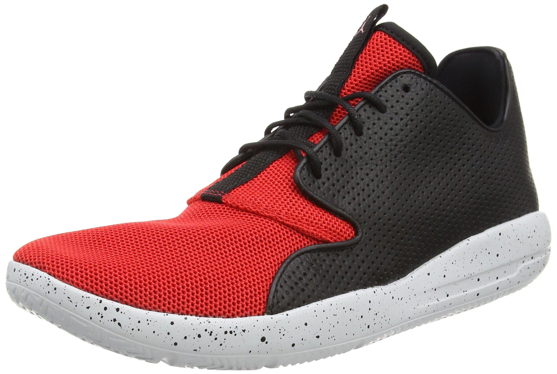 Jordan Nike Men's Eclipse Black/University Red/Unvrst Running Shoe 12
