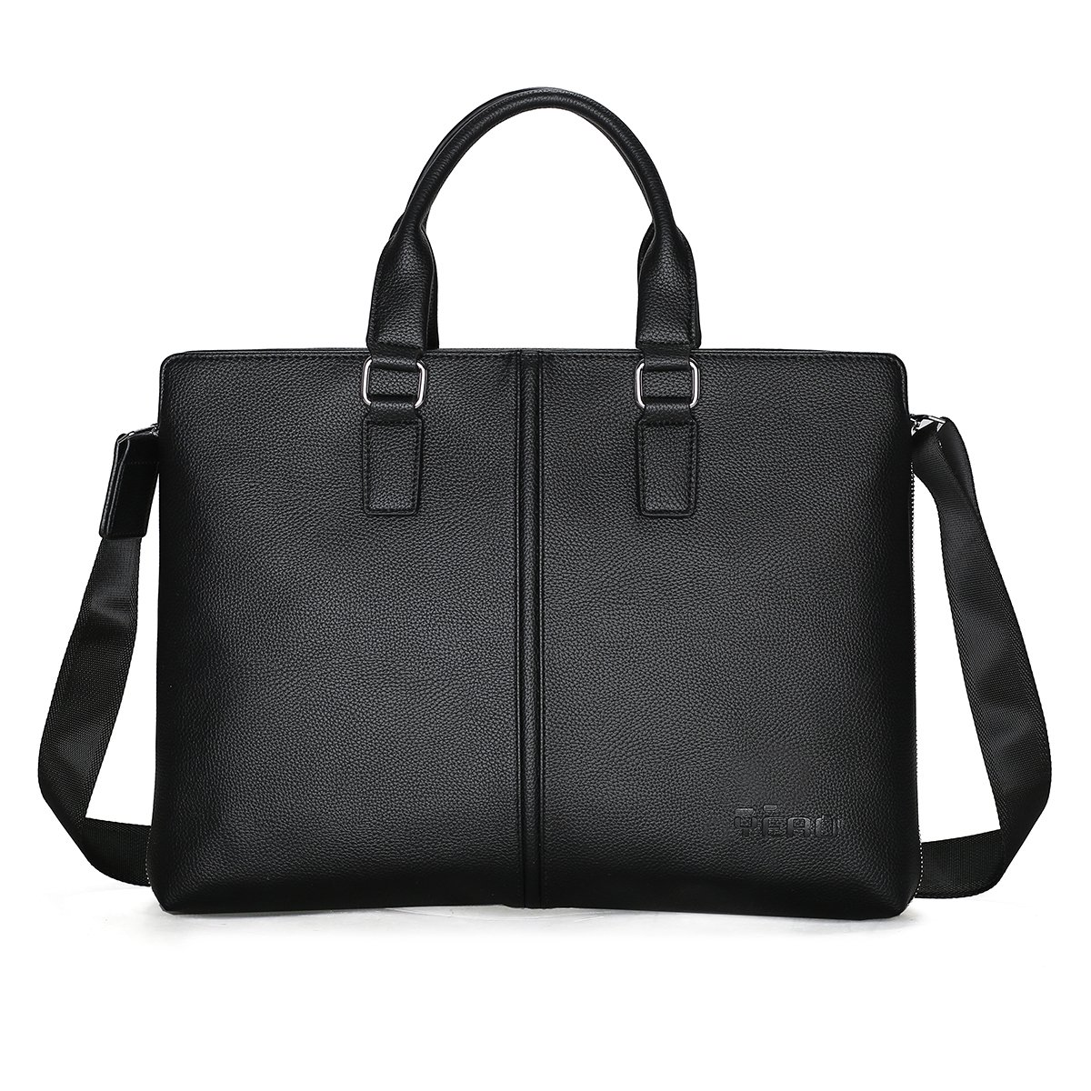 Business Mens Briefcase Soft Leather Laptop Briefcase for Lawyers Office Bag Slim Expandable Briefcases Professional Messenger Bags