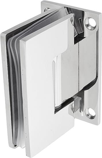 SUNNY ducha sh-ch-90 sin marco Pivot para mampara de ducha bisagras, acero inoxidable cromado: Amazon.es: Bricolaje y herramientas
