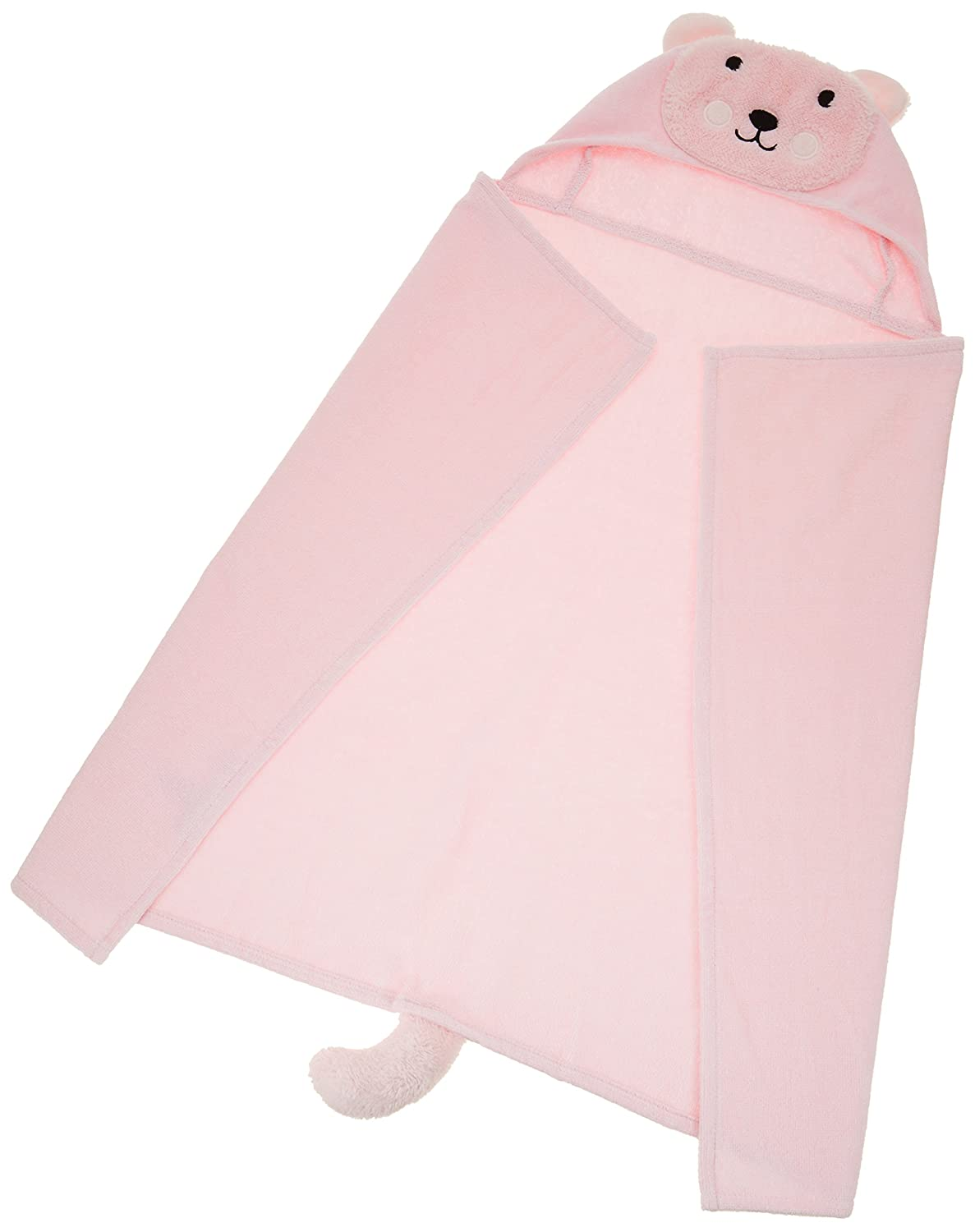 Amazon.com : Elegant Baby Bath Best Bath Gift - Cotton Towel Wrap, Cute Pink Mouse Princess : Baby