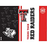 Tervis 1221299 Texas Tech Red Raiders College Pride Tumbler with Wrap and Black Lid 24oz, Clear