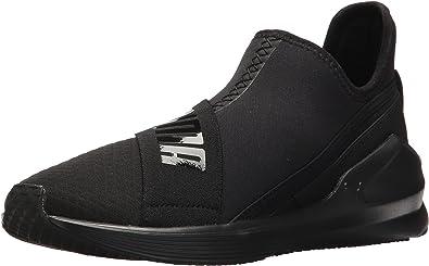 PUMA Women's Fierce Slip On Wn Sneaker, Black, 10 M US