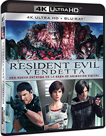 Resident Evil: Vendetta (4K UHD + BD) [Blu-ray]: Amazon.es: Erin ...