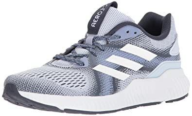 finest selection b7cd0 a3e20 adidas Womens Aerobounce ST w Running Shoe aero Chalk Trace Blue, ...