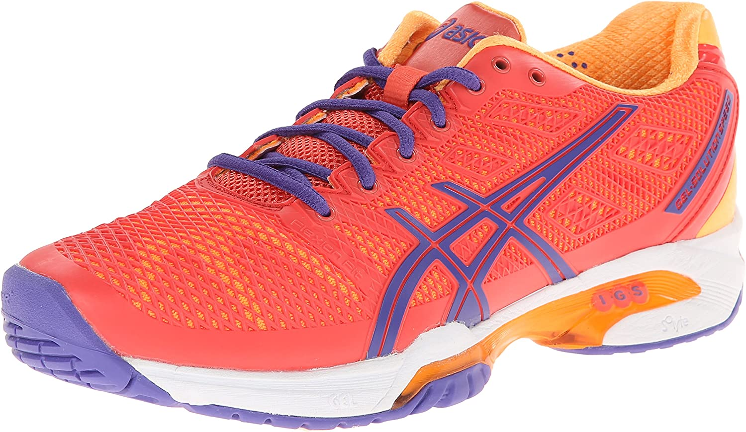 hígado Astronave Diligencia  Amazon.com | ASICS Men's Gel-Solution Speed 2 Clay-W, Hot  Coral/Lavender/Nectarine, 10.5 | Tennis & Racquet Sports
