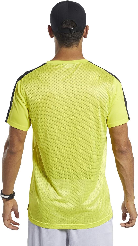 Reebok Mens Workout Ready Short Sleeve Tech Tee