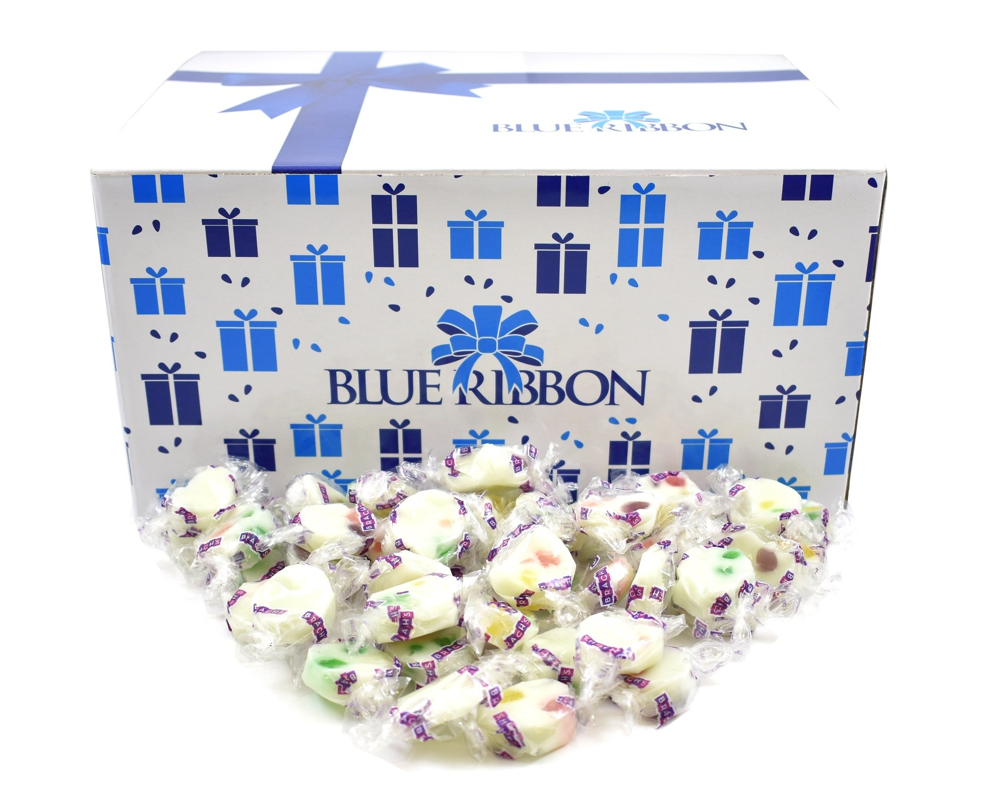 Brach's Jelly Nougats, Individually Wrapped in Bulk by Blue Ribbon, 9 Lbs by Blue Ribbon