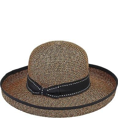 d7084236 Sun 'N' Sand Paper Braid Hat (Black) at Amazon Women's Clothing store: