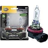 HELLA H9 2.0TB High Performance Bulb, 12V, 65W, 2 Pack