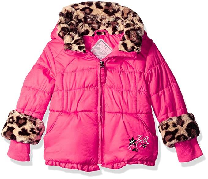 c4b34e64f Amazon.com: ZeroXposur Baby Girls' Fay Puffy Jacket, Cerise, 12 ...