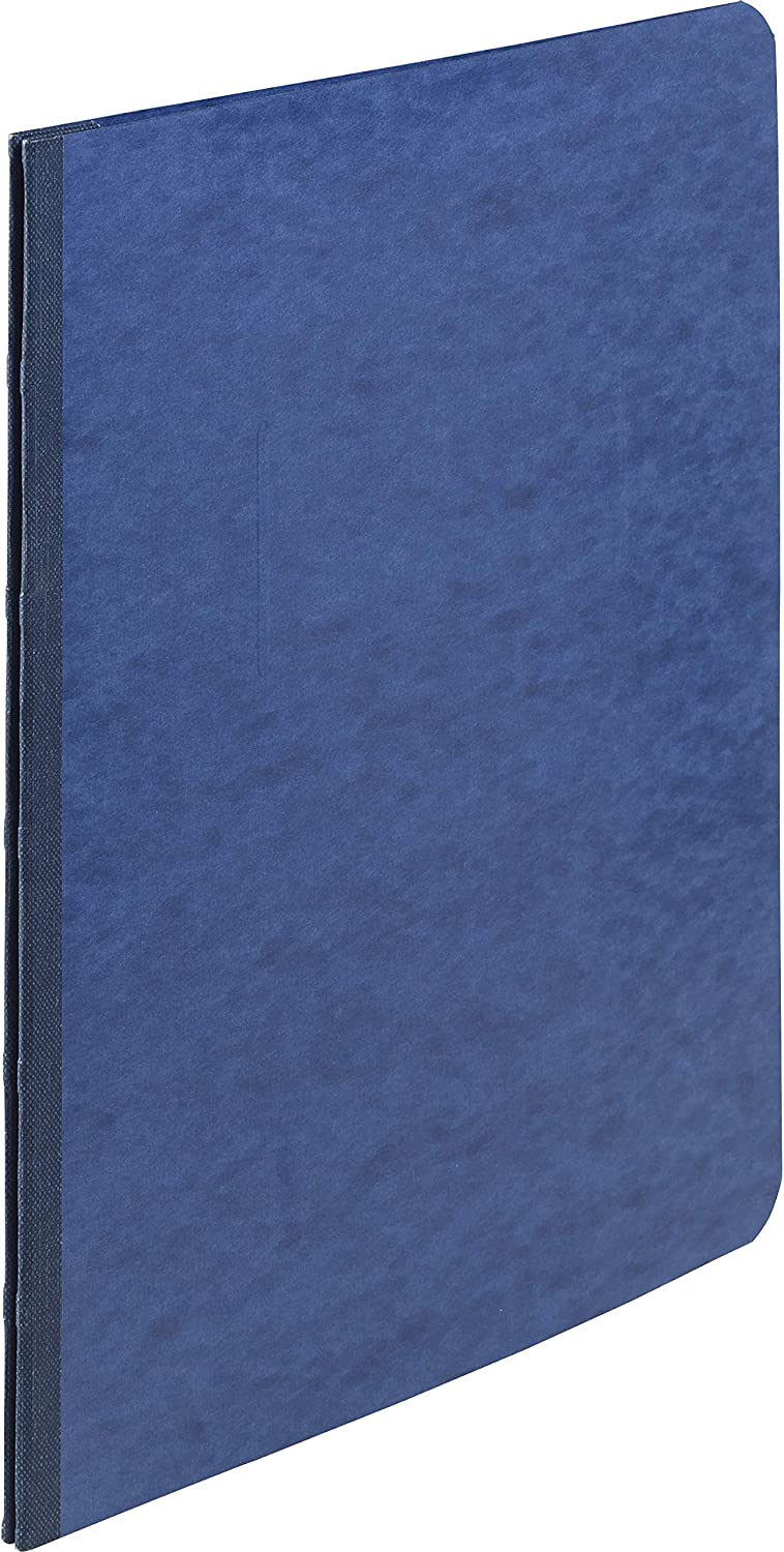 ACCO PRESSTEX Report Cover, Side Bound, Tyvek Reinforced Hinge, 8.5 Inch Centers, 3 Inch Capacity, Letter Size, Dark Blue (A7025073A)