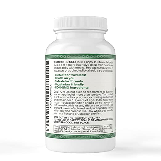 IntestinePro Intestine Support for Humans with Non-GMO Wormwood, Black  Walnut, Echinacea + 15