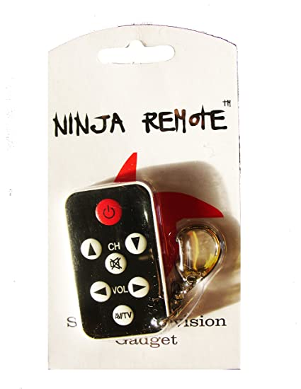 Mini Stealth TV Television Remote (color may vary, white/black)