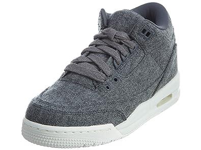 Amazon.com: Jordan 3 Retro Big Kids tenis de baloncesto: Shoes