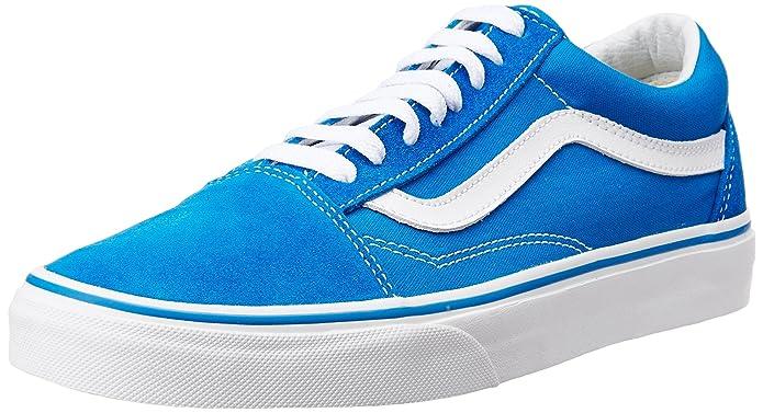 Vans Old Skool Schuhe Damen Herren Unisex Erwachsene Blau (Imperial Blue)