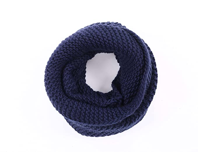 Knit Infinity Scavers For Men Womens Simplicitythick Knitted Neck