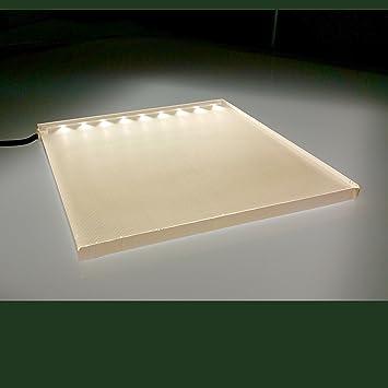Lumisheet ™ Edge-Lit LED Backlighting Panel, 6x6-inch, 3700K: Amazon