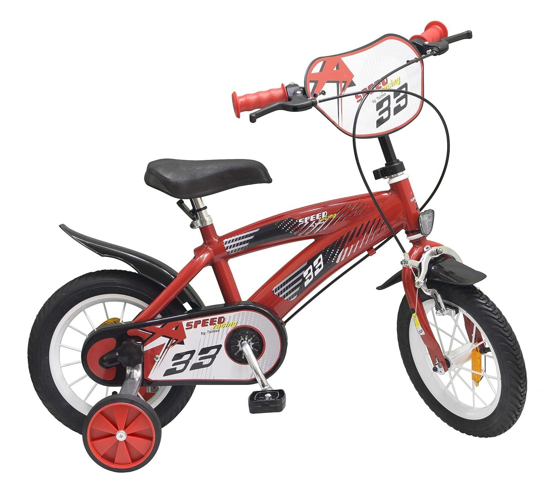 Kinderfahrrad Speed TX rot 12 Zoll mit Stützräder