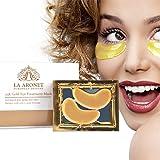 LA ARONET 24K Gold Eye Treatment Masks