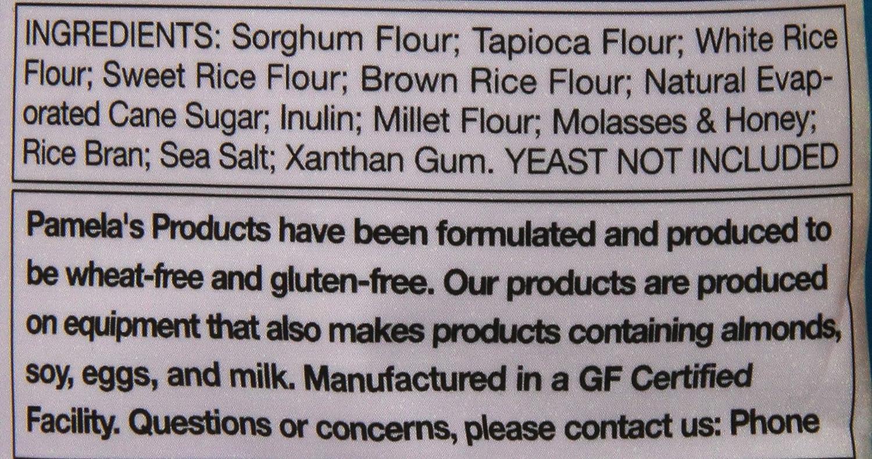 Pamelas Products Gluten Free Pans Mix, 64 oz: Amazon.com ...