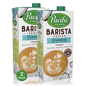 Pacific Foods Barista Series Coconut Milk, 32 Ounce (Pack of 2)