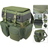 Roddarch copy; Fishing Seat Box & Rucksack. Fly Sea Coarse Fishing Seat Backpack.