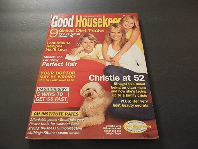 Good Housekeeping May 2006 Christie Brinkley Diets Recipes Perfect Hair At Amazon S Entertainment Collectibles Store